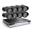 Zmodo 8CH 960H DVR Video Surveillance System with 8 700TVL IR Cameras