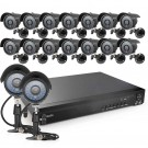 Zmodo 16CH 960H DVR with 16 700TVL Bullet Camera and 2TB HDD