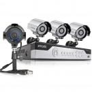 Zmodo 8CH 960H DVR Security System & 4 700TVL Cameras , P2P, QR-Code Connection