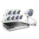 Zmodo 8CH H.264 960H P2P DVR Security System w/ 8x 700TVL IR Cameras with 500GB HDD