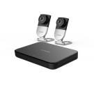 Zmodo 4 Channel 720P Wireless Mini NVR Kit with 2 WiFi IP Cameras