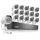 Zmodo 16Channel 720p NVR system with 16 HD IP Cameras & 2TB HDD