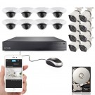 Zmodo 16 Channel 720p sPOE NVR Security System with 16 HD IP Cameras and 2TB Hard Drive
