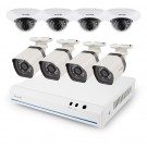 Zmodo 8 Channel 720p NVR system with 8 HD Indoor/Outdoor  IP Cameras & 2TB HDD