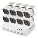 Zmodo 8 Channel 720p NVR system with 8 HD IP Cameras &2TB HDD