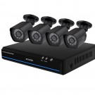 Zmodo 4 Channel 1080p NVR system with 4 HD IP Cameras & 1TB HDD