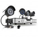 Zmodo 8 Channel 960H DVR Security System  & 4 700TVL IR Camera and 500GB HDD