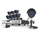 Zmodo 8 Channel 960H DVR Security System 1TB HDD & 8 700TVL IR Camera